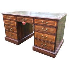 George III Rosewood Library Partner's Desk