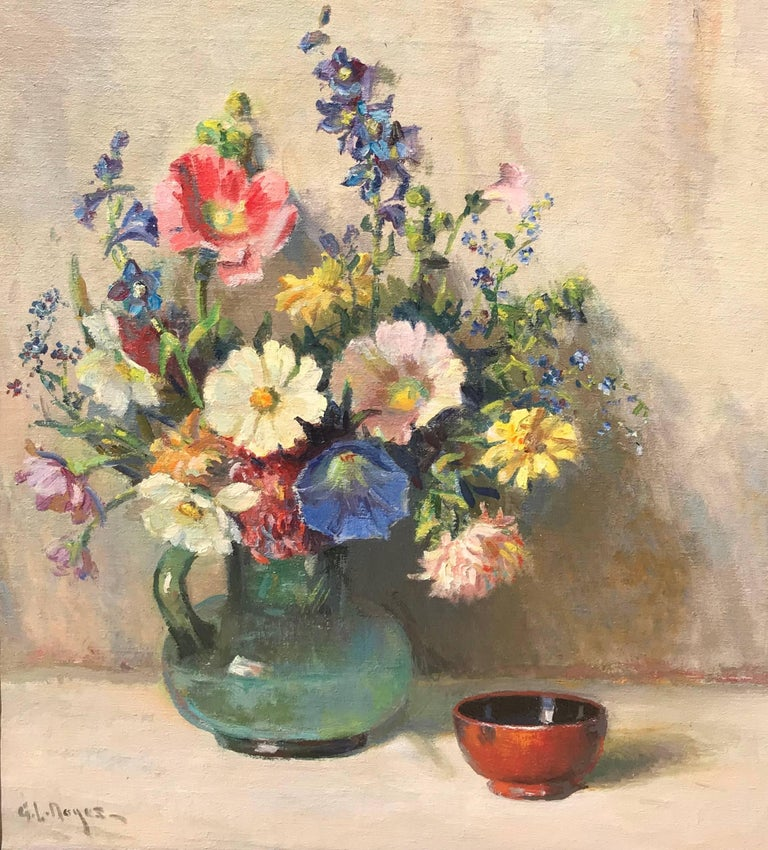 "George Loftus Noyes - ""Spring Bouquet"", Painting For Sale at 1stdibs"
