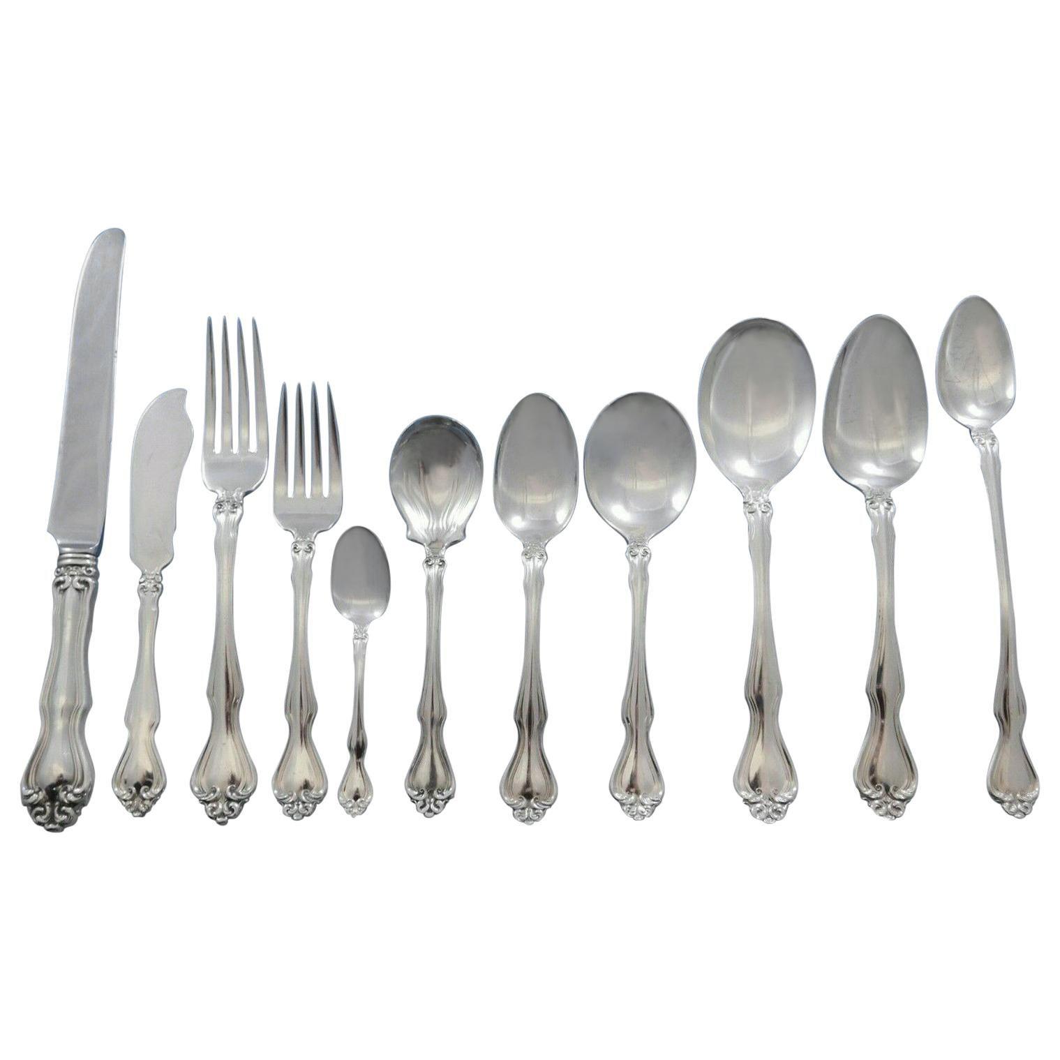 "George and Martha By Westmorland Sterling Silver Demitasse Spoon 4/"""
