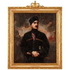 George Matchabelli Portrait Oil Painting
