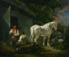 The White Horse An English Genre Painting by George Morland 18th Century