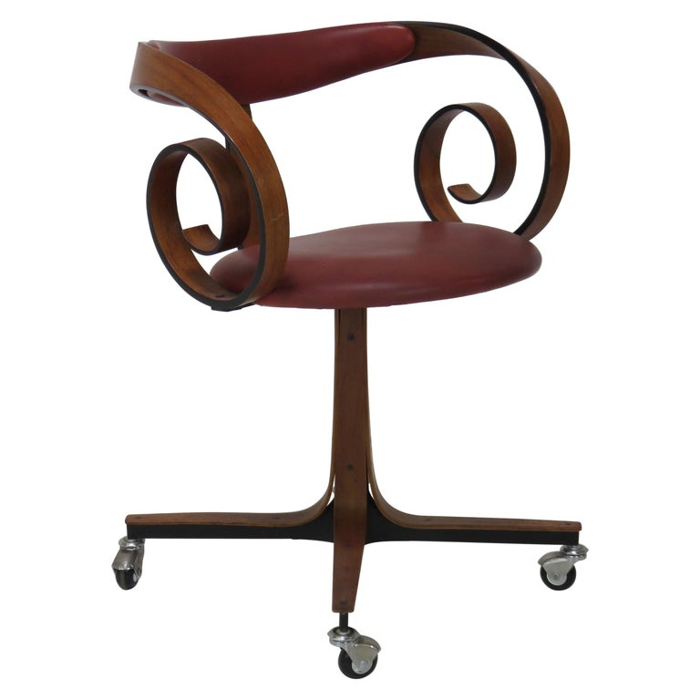 George Mulhauser Desk Chair For Sale