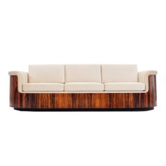 George Mulhauser Rosewood Sofa