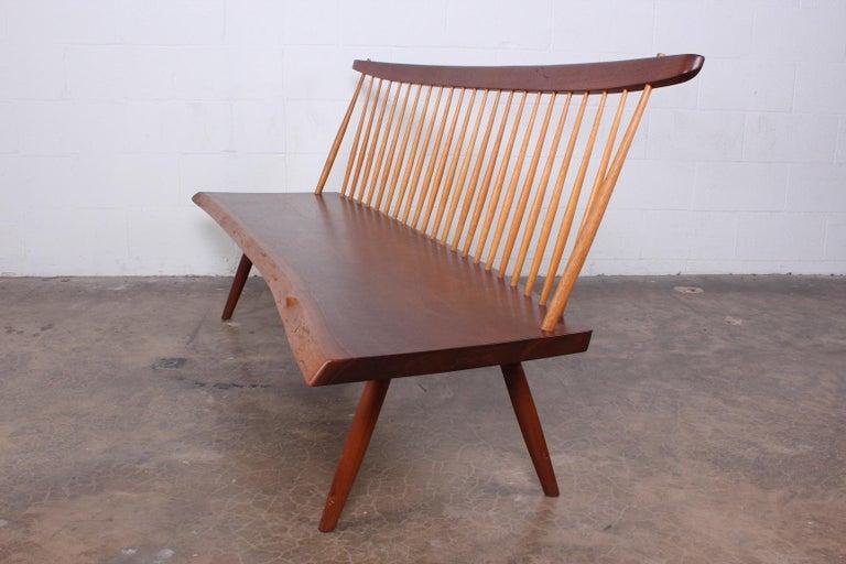 George Nakashima Bench, 1976 For Sale 5