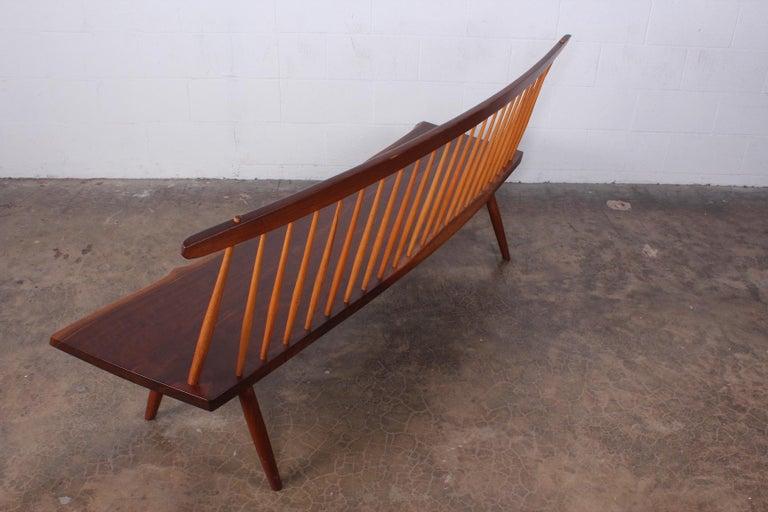 George Nakashima Bench, 1976 For Sale 10