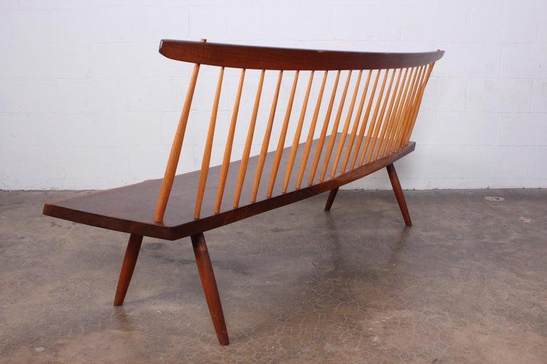 George Nakashima Bench, 1976 For Sale 11
