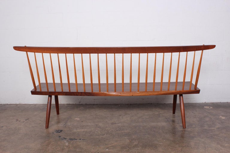 George Nakashima Bench, 1976 For Sale 12