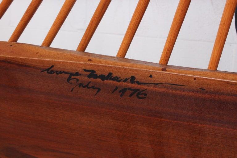 George Nakashima Bench, 1976 For Sale 14