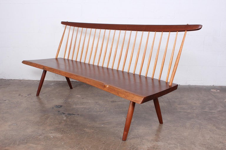 George Nakashima Bench, 1976 For Sale 2