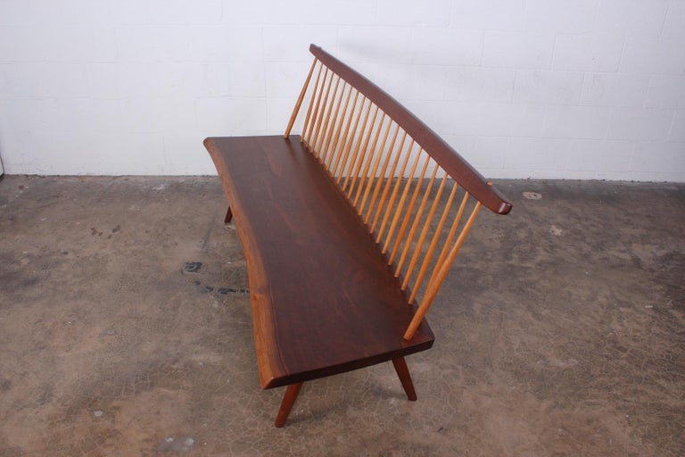 George Nakashima Bench, 1976 For Sale 4