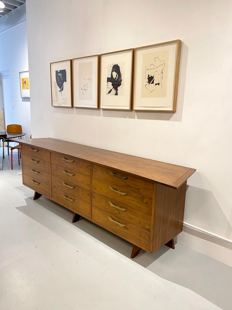 American George Nakashima Cabinet Model OH- 212L, 1950s For Sale