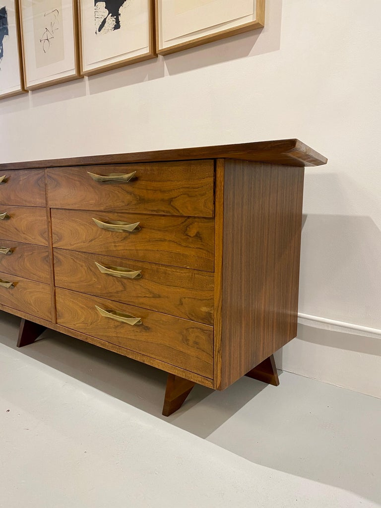 George Nakashima Cabinet Model OH- 212L, 1950s In Excellent Condition For Sale In New York, NY