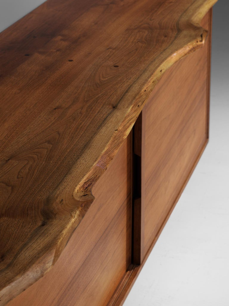 Mid-19th Century George Nakashima Cabinet with Sliding Doors, 1958 For Sale