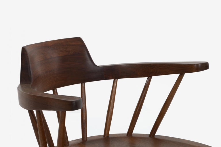George Nakashima Captains Chair Nakashima Studio For Sale 1