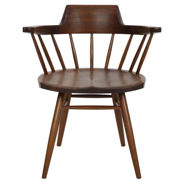 George Nakashima Captains Chair Nakashima Studio For Sale