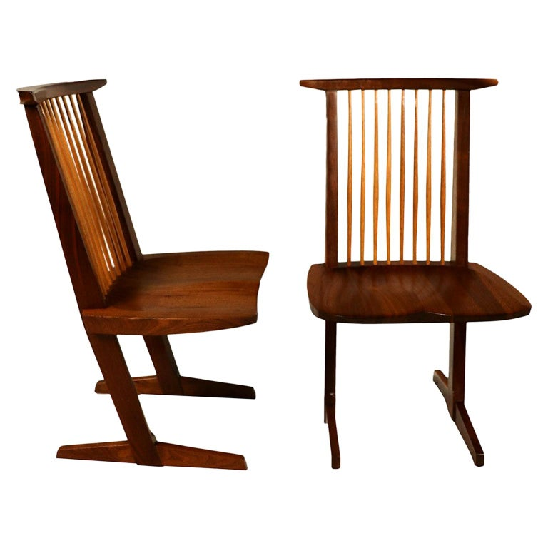 George Nakashima Conoid Chairs For Sale