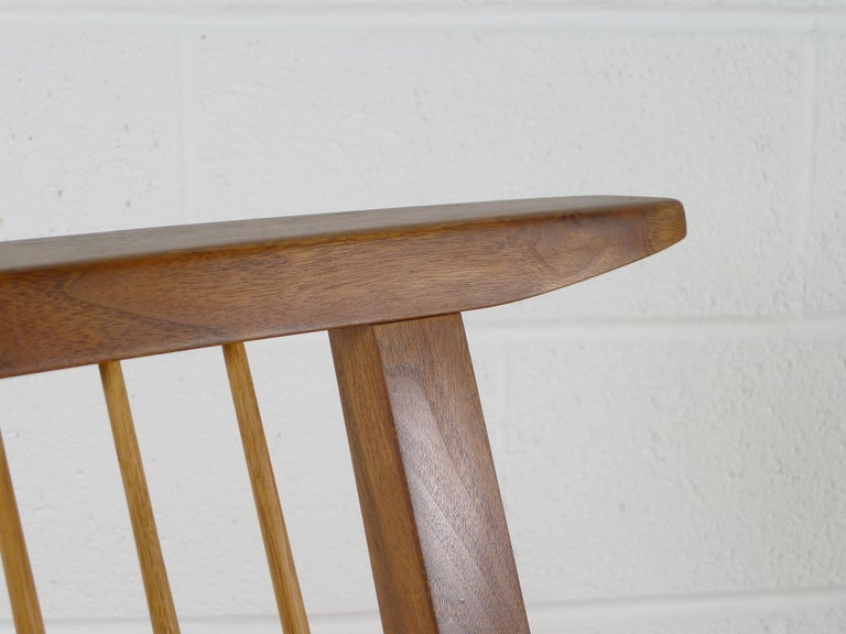 George Nakashima, Conoid Lounge Chair For Sale 3