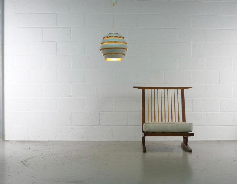 Walnut George Nakashima, Conoid Lounge Chair For Sale