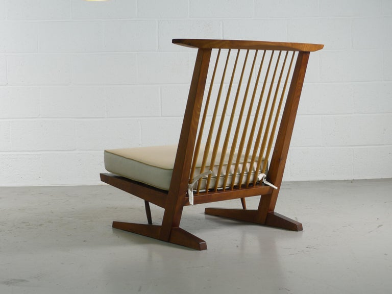 George Nakashima, Conoid Lounge Chair For Sale 1
