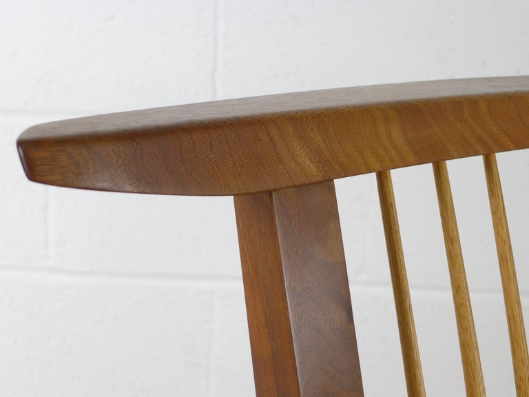 George Nakashima, Conoid Lounge Chair For Sale 2