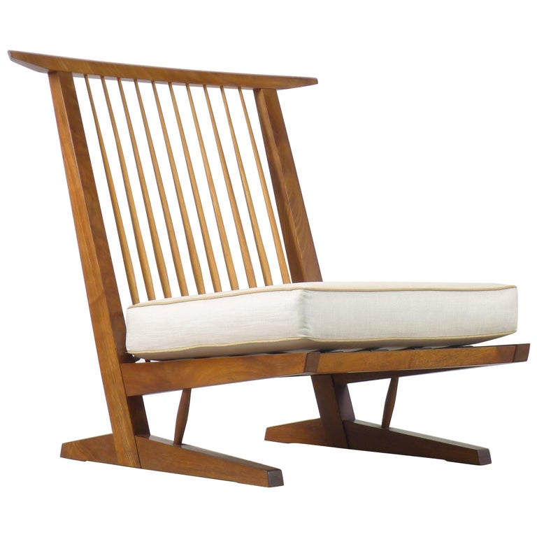 George Nakashima, Conoid Lounge Chair For Sale