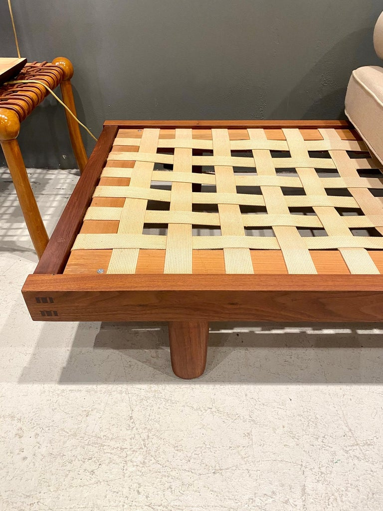 Mid-20th Century George Nakashima Custom Daybed, 1950s For Sale