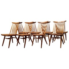 "George Nakashima Eight Walnut ""New Chairs"" Widdicomb/ Nakashima Studio, 1960"