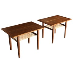 George Nakashima for Widdicomb Side Tables, circa 1958