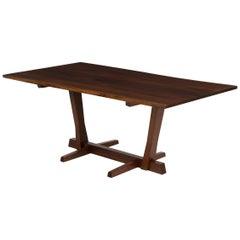 """George Nakashima Free Edge """"Conoid"""" Dining Table"""