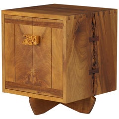 George Nakashima Kornblut Cabinet with Persian Walnut, Oregon Myrtle & Rosewood