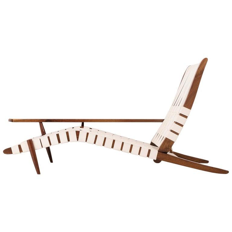 "George Nakashima ""Long Chair"" For Sale"