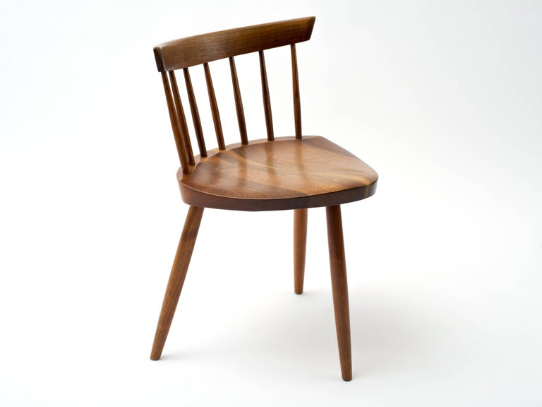 Mid-Century Modern George Nakashima Mira Chair, 1964 For Sale