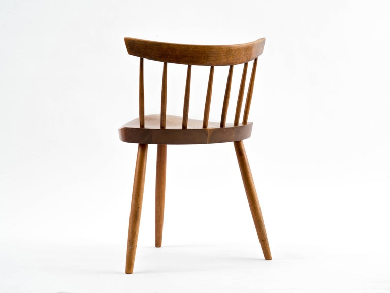 George Nakashima Mira Chair, 1964 In Good Condition For Sale In Brooklyn, NY