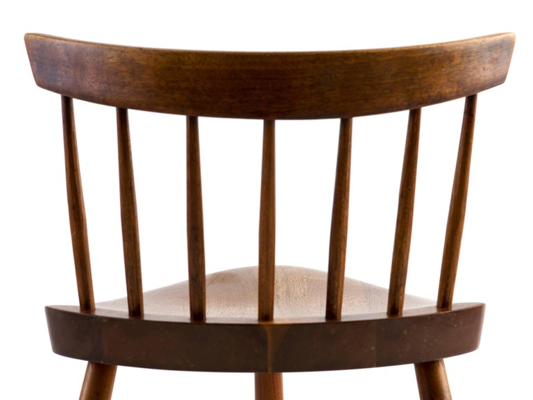 Walnut George Nakashima Mira Chair, 1964 For Sale