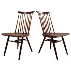 George Nakashima New Chairs, Pair