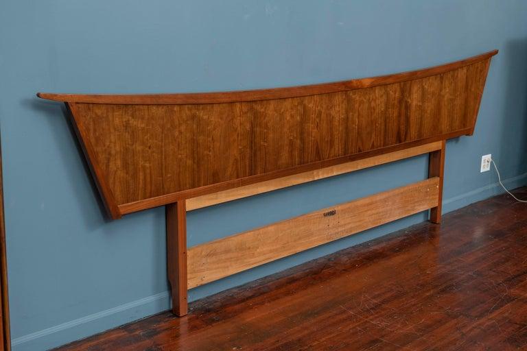 Mid-Century Modern George Nakashima Origins Headboard by Widdicomb For Sale