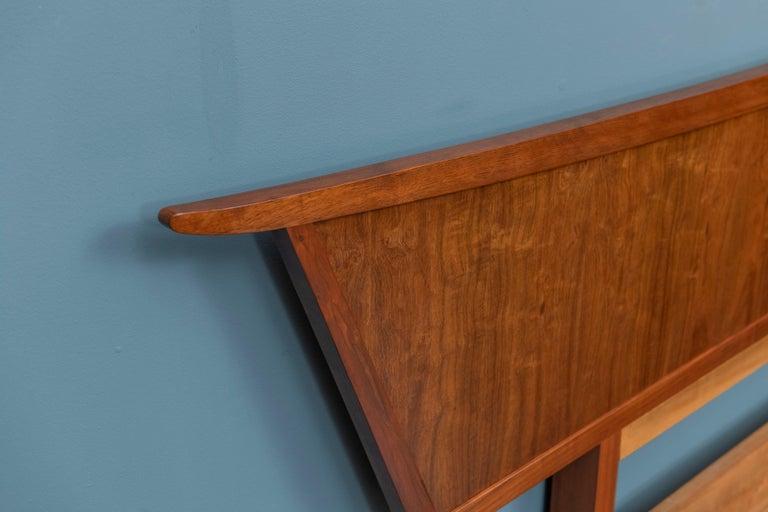 American George Nakashima Origins Headboard by Widdicomb For Sale
