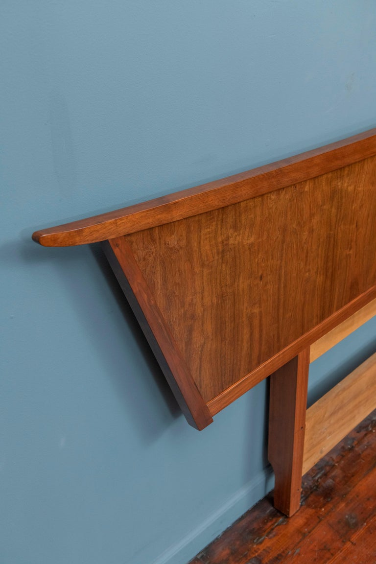 George Nakashima Origins Headboard by Widdicomb In Good Condition For Sale In San Francisco, CA