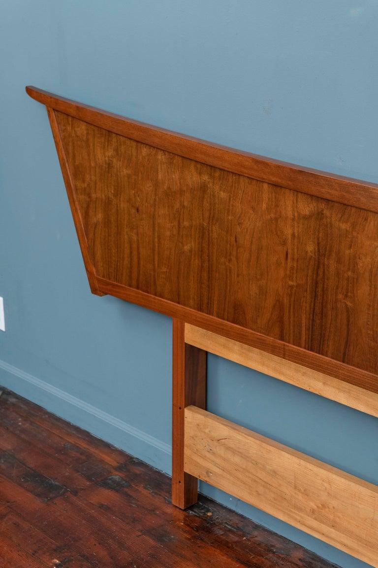 Mid-20th Century George Nakashima Origins Headboard by Widdicomb For Sale