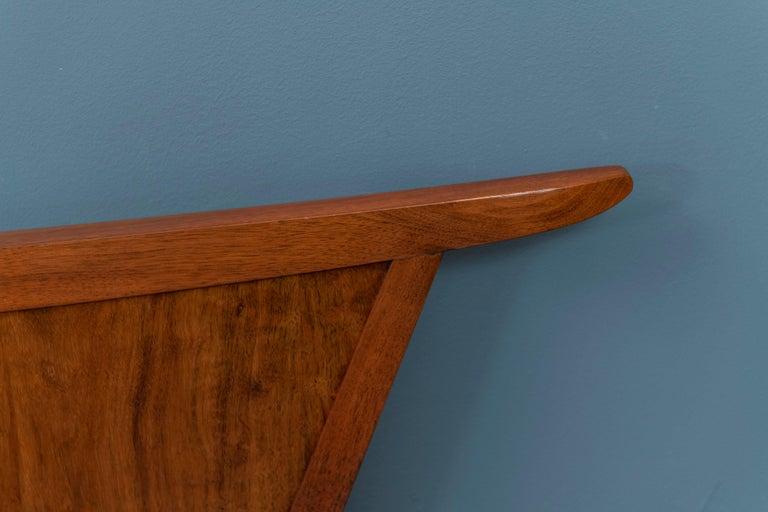 Elm George Nakashima Origins Headboard by Widdicomb For Sale