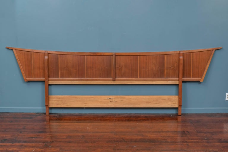 George Nakashima Origins Headboard by Widdicomb For Sale 1