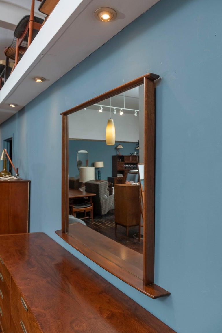 American George Nakashima Origins Wall Mirror For Sale