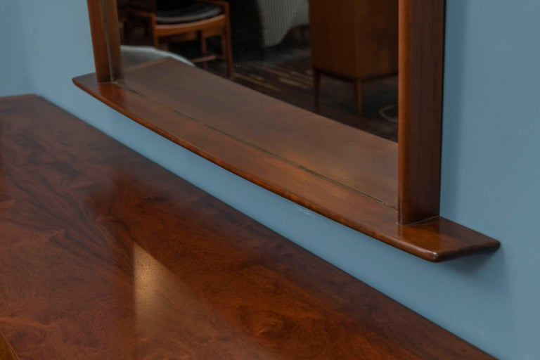 George Nakashima Origins Wall Mirror In Good Condition For Sale In San Francisco, CA