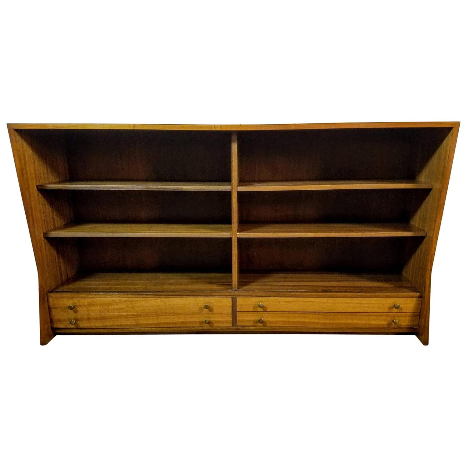 George Nakashima Sideboard Upper Cabinet Model 277 Walnut Widdicomb Origins 1960