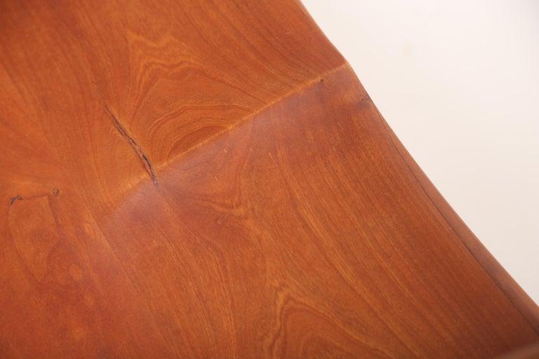 George Nakashima Slab-Arm Lounge Chair For Sale 4