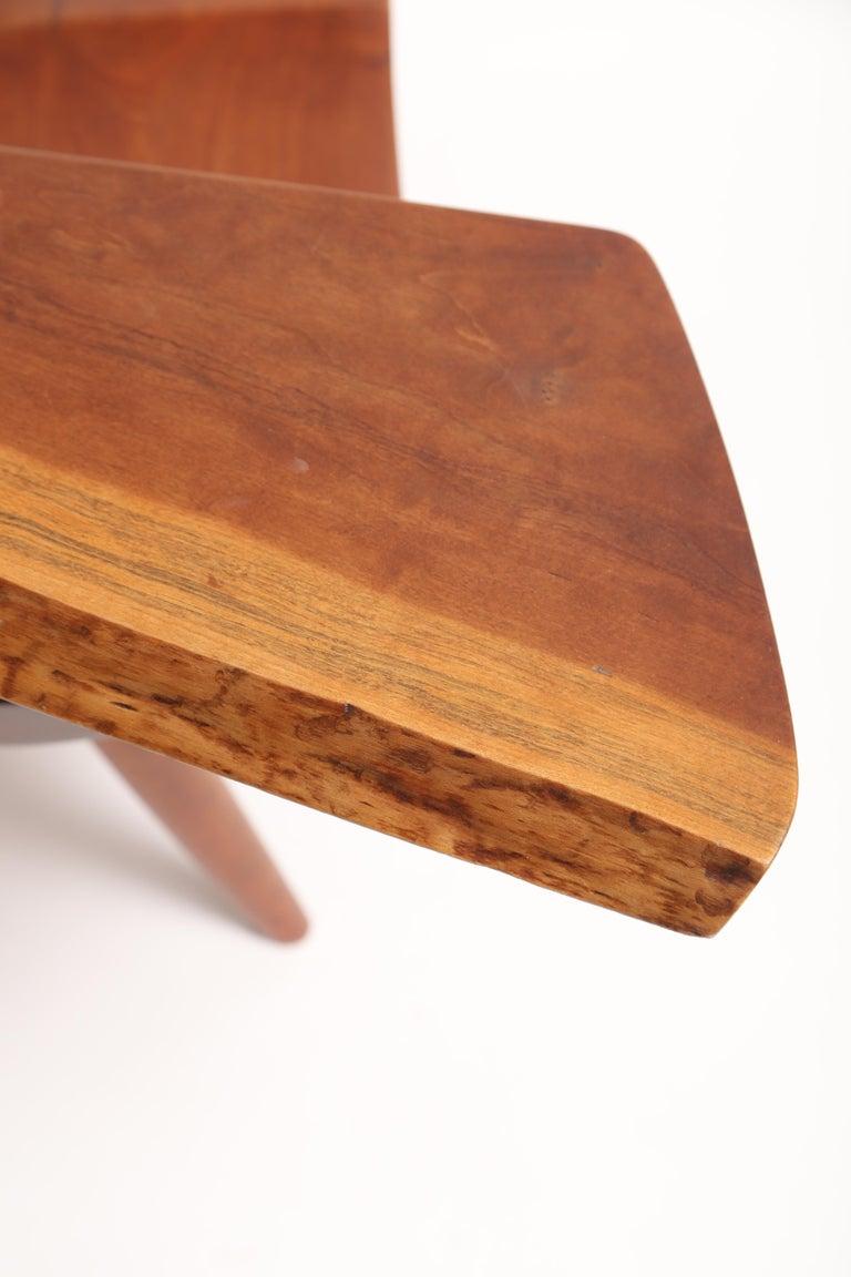Mid-20th Century George Nakashima Slab-Arm Lounge Chair For Sale