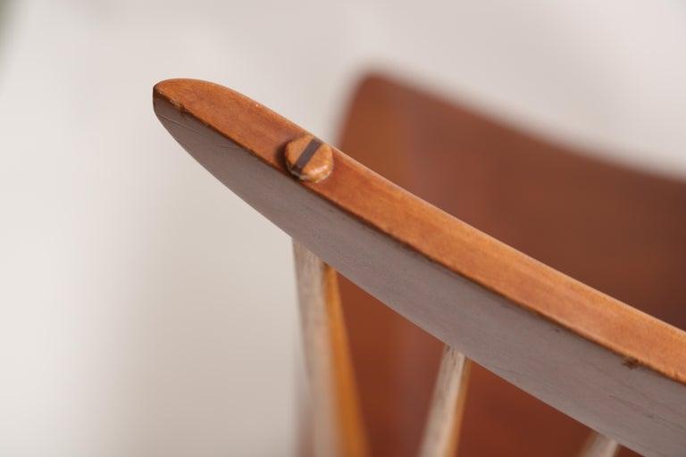 George Nakashima Slab-Arm Lounge Chair For Sale 2