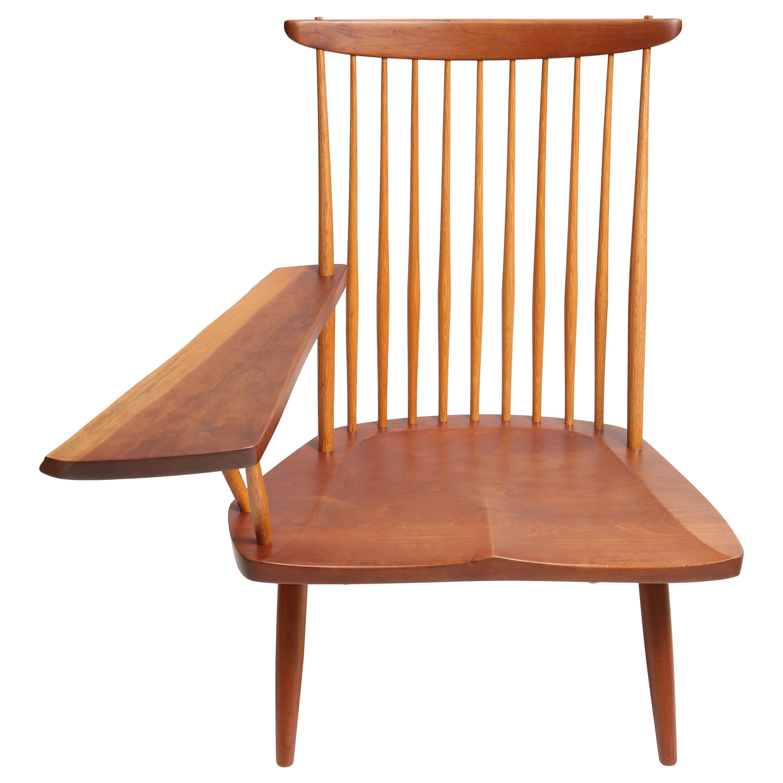 George Nakashima Slab-Arm Lounge Chair