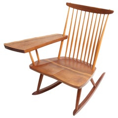 George Nakashima Slab-Arm Rocker