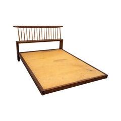 George Nakashima Spindle Back Bed